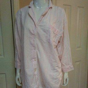 Vintage Victoria's Secret Button Up Sleep Shirt